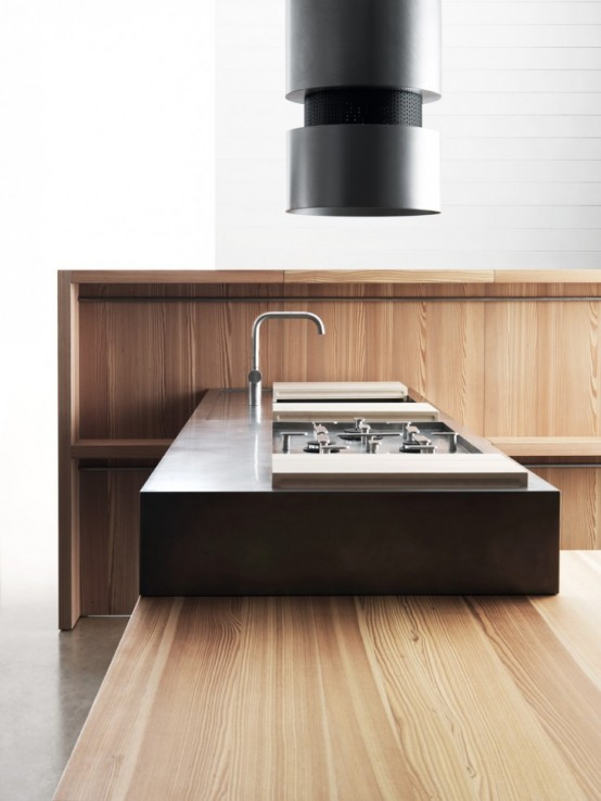 Moveable And Modular Convivio Kitchen System