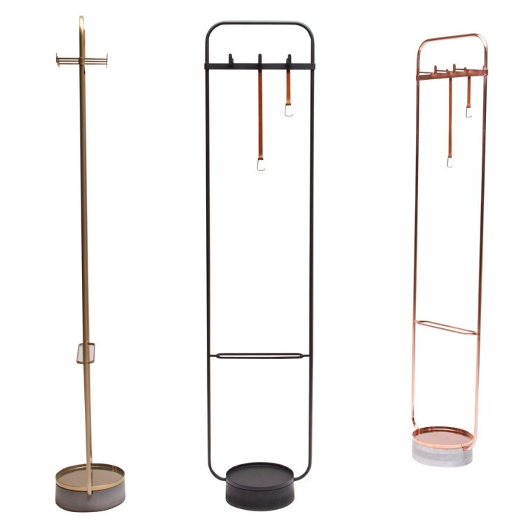 Free Standing Clothes Rack on Eco Friendly Modern Home Designs