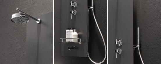 Multifunctional Shower Panels for Bathtub – FLY from Area Bagno