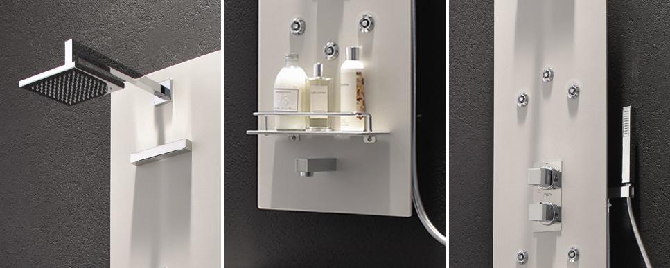 Multifunction Pearl Shower Panel