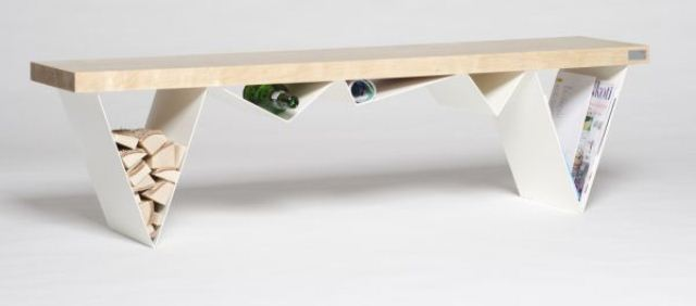 Multifunctional Mägi Bench Accentuating Your Storage