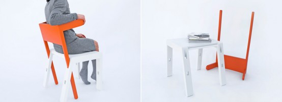 Multitasking Superbambi Chair For Small Spaces