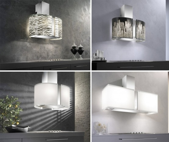 murano collection of range hoods