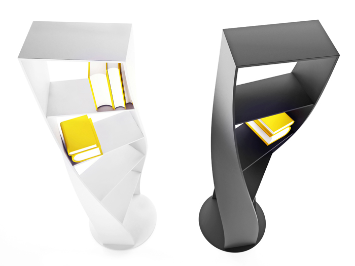 MYDNA Twisted Bookcase concept