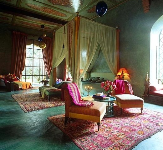 Exceptionnel Mysterious Moroccan Bedroom Designs