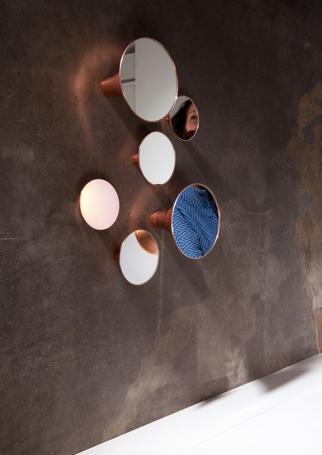 Mysterious Syren Mirror And Light To Make An Accent