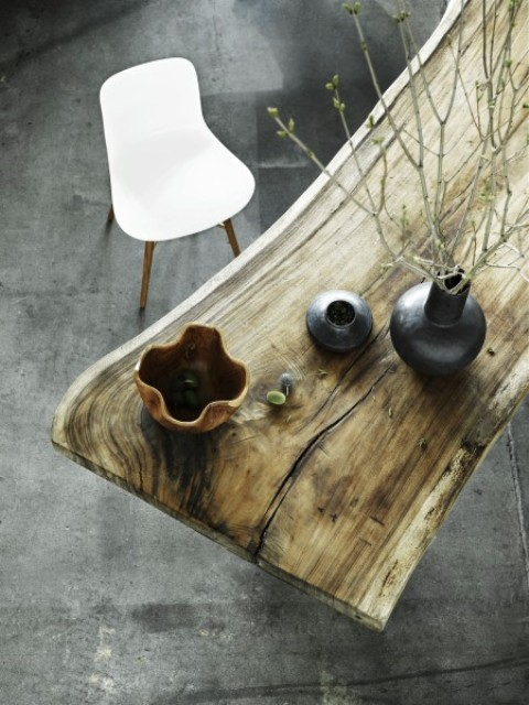 Natural Beauty And Elegance Rough Table By Norr