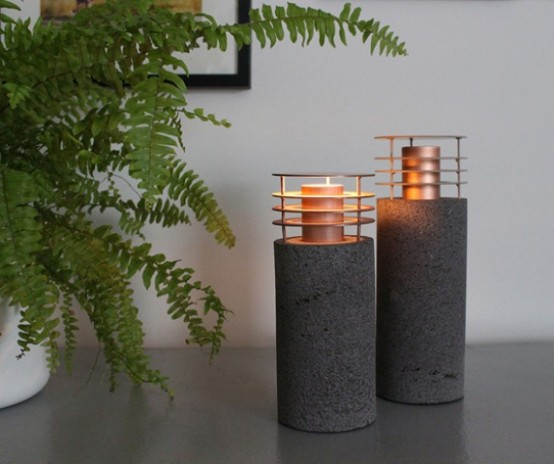 Nature Inspired Lamp Collection By Studio Barrero Carsenat