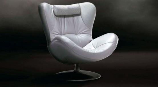 Natuzzi sound chair