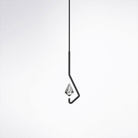 Neomodern One Crystal Chandelier