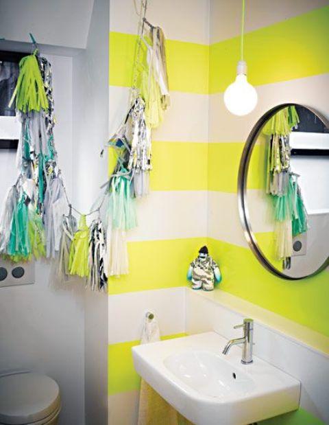 Nhà bừng sáng với nội thất rực rỡ sắc màu (11)