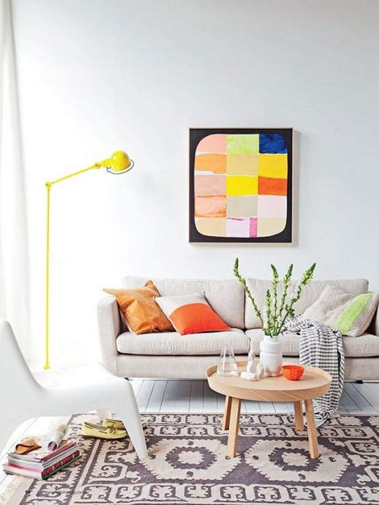 Nhà bừng sáng với nội thất rực rỡ sắc màu (12)
