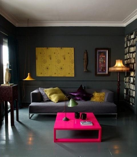 Nhà bừng sáng với nội thất rực rỡ sắc màu (19)