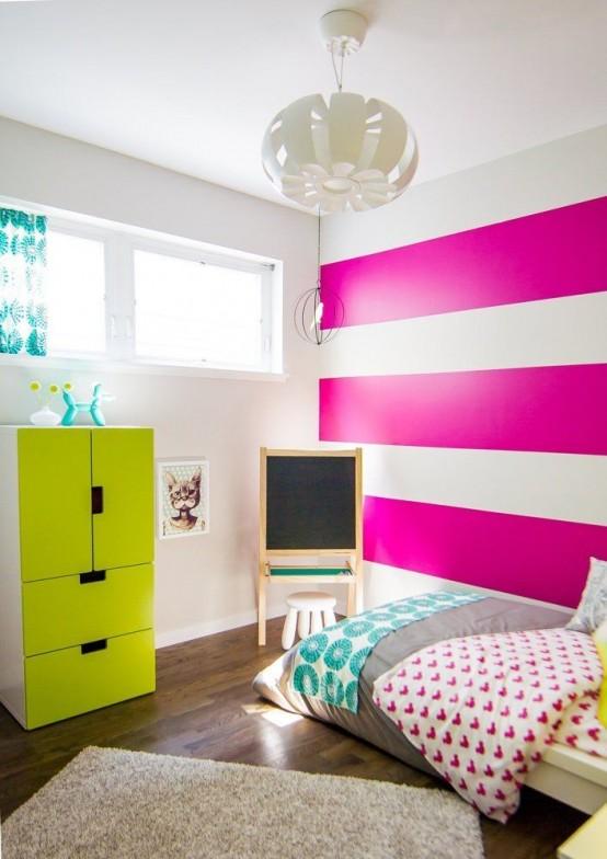 Nhà bừng sáng với nội thất rực rỡ sắc màu (23)