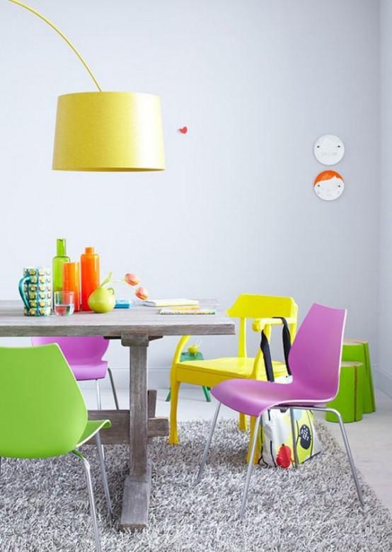 Nhà bừng sáng với nội thất rực rỡ sắc màu (26)