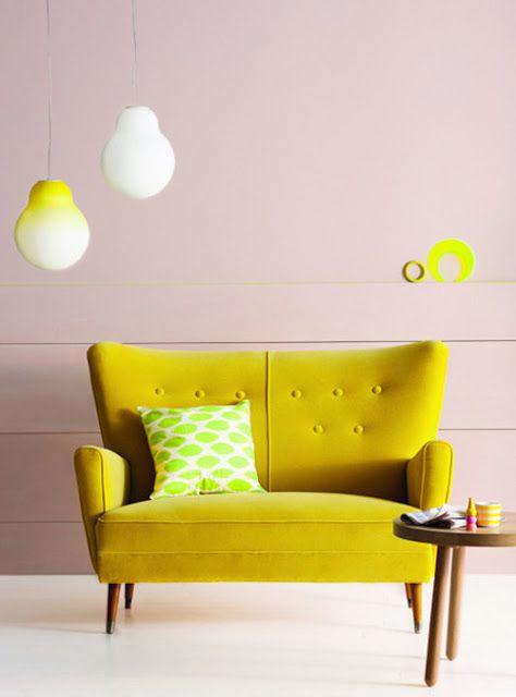 Nhà bừng sáng với nội thất rực rỡ sắc màu (4)