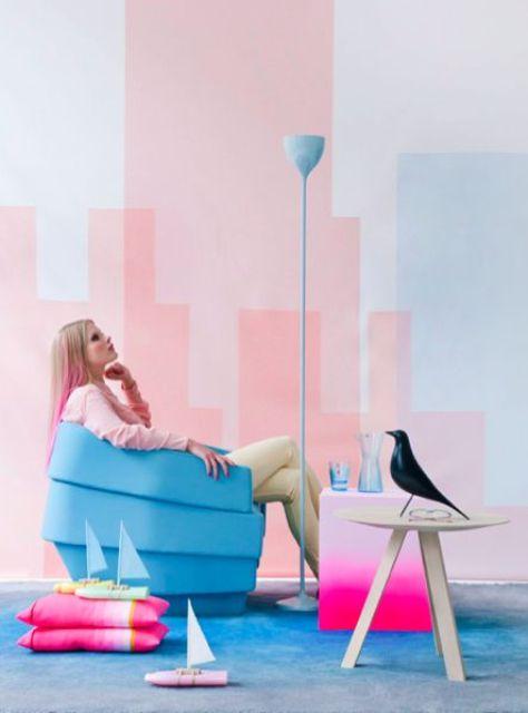Nhà bừng sáng với nội thất rực rỡ sắc màu (32)