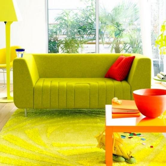 Nhà bừng sáng với nội thất rực rỡ sắc màu (9)