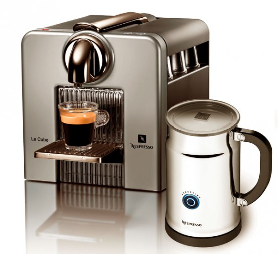 Nespresso coffee machine le cube c185 digsdigs - Machine a cafe nespresso ...