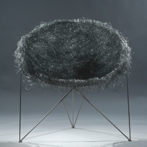 Nest Chair Made Of Steel