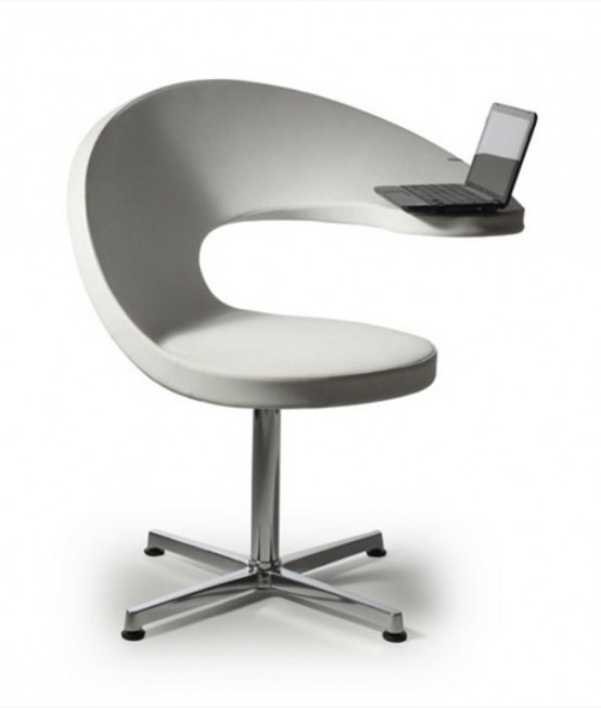 Netbook Lounge Armchair Of A Shape