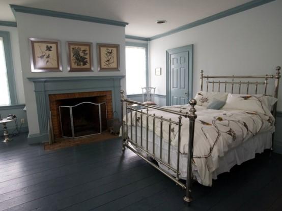 Neutral Bedroom In Dark Shades