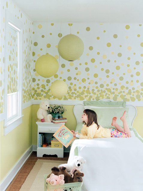 Neutral Color Coordinated Kids Room