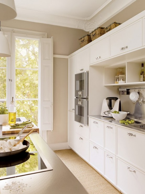 Neutral Kitchen Design In Natural Colors And Materials - DigsDigs