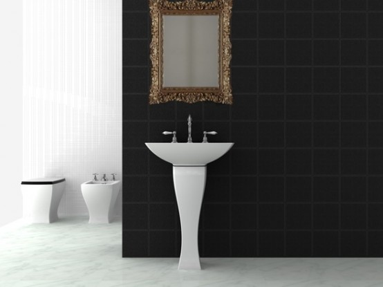 New Amazing Bathroom Sanitary Ware in Classic Style – Jazz by Art Ceram