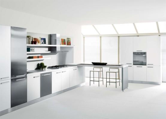 New Indesit Built In Kitchen Appliances