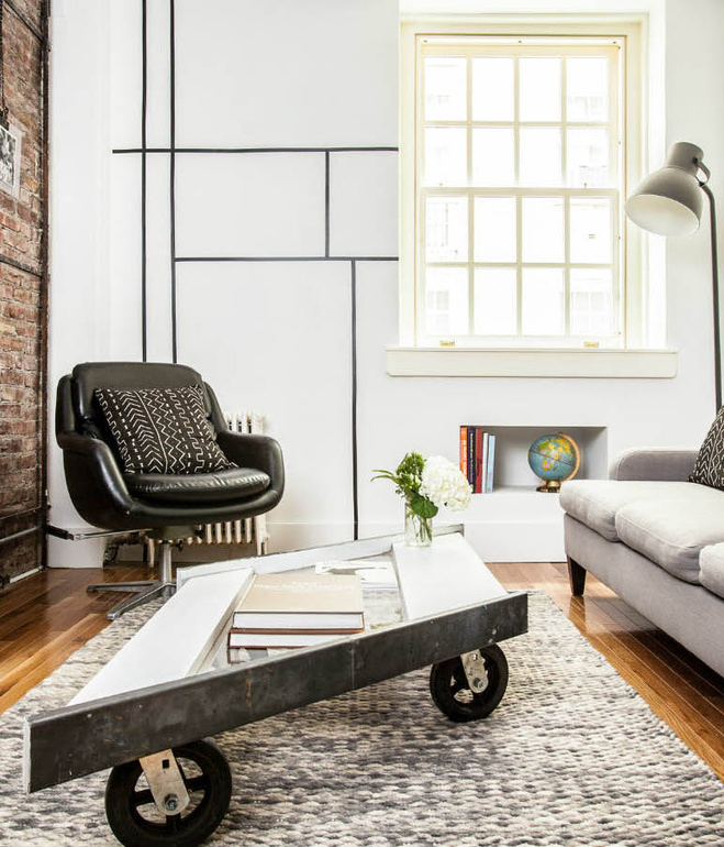 New York Apartment Renovation With Chic Industrial Touches