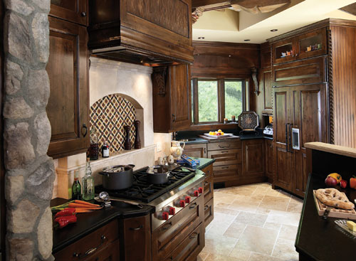 Large Kitchens Second Place designed by Peter Vanderhyden