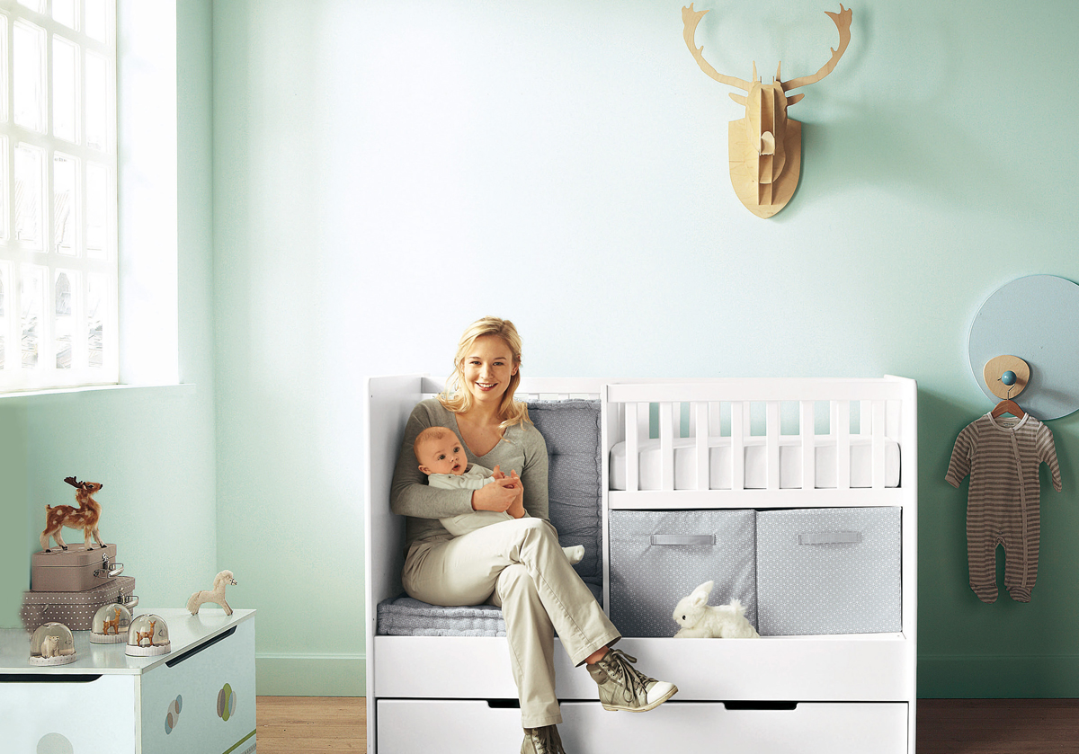 11 cool baby nursery design ideas from vertbaudet digsdigs for Baby s room decoration ideas