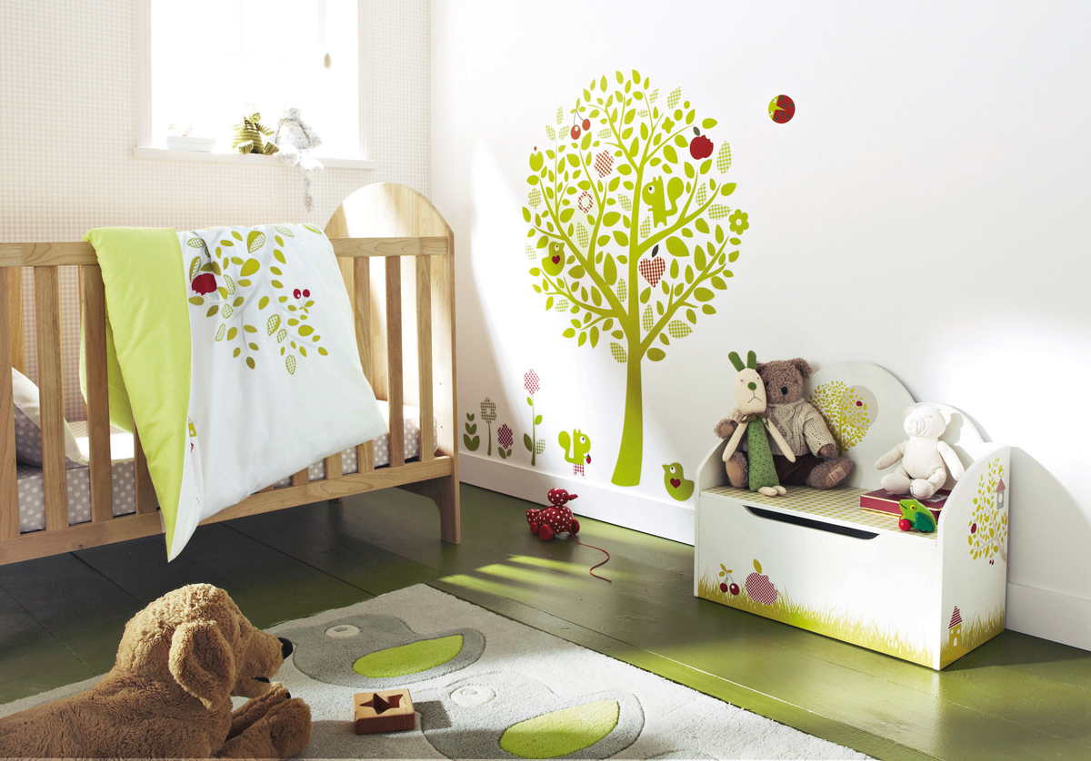 11 cool baby nursery design ideas from vertbaudet digsdigs - Stickers chambre bebe garcon ...
