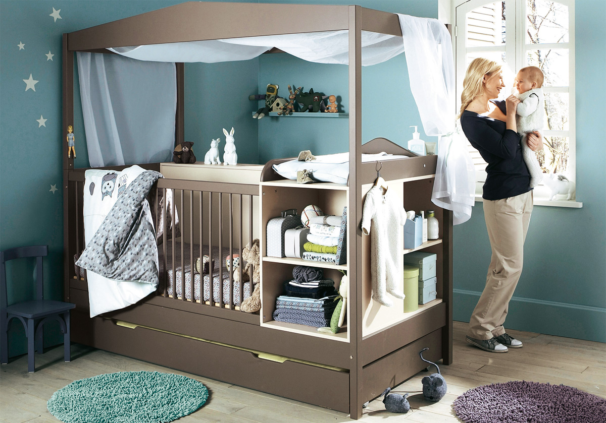 11 cool baby nursery design ideas from vertbaudet digsdigs for Furniture for toddlers room