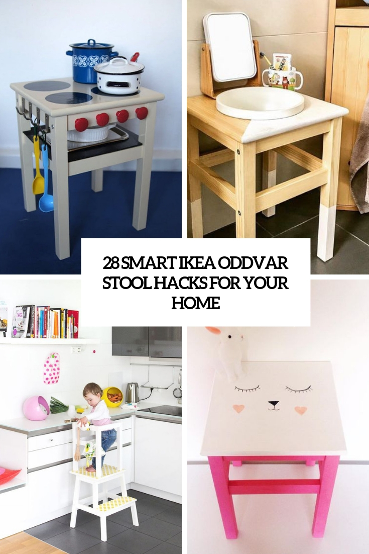 28 Smart IKEA Oddvar Stool Hacks For Your Home