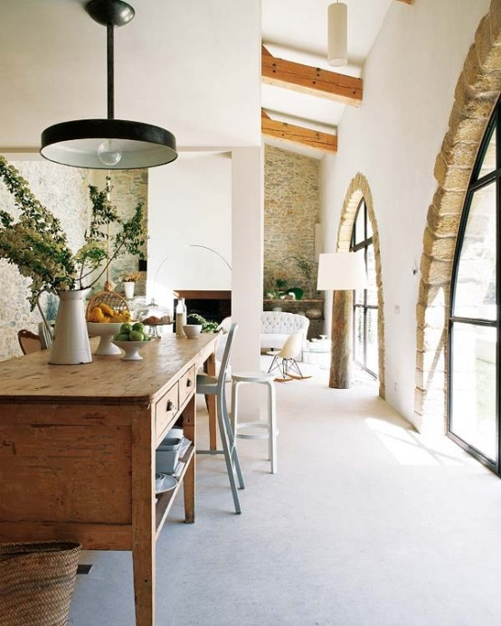 Old Oil Mill Restored Into A Modern House