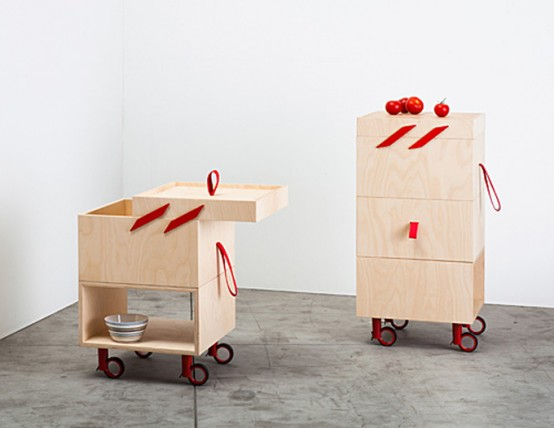 Ole Wheeled Carts For Kitchen Use