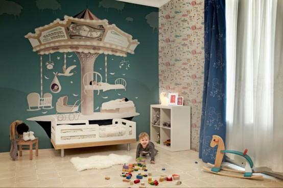 Artistic Wallpapers For Kids Rooms
