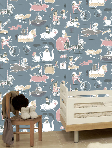 Artistic Wallpapers For Kids Rooms - DigsDigs