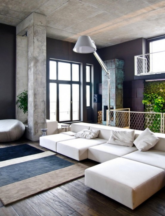 One Of A Kind Minimalist Penthouse In Kiev