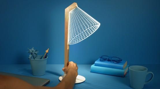 Lampade a illusione ottica con effetto 3D - Arredo Idee