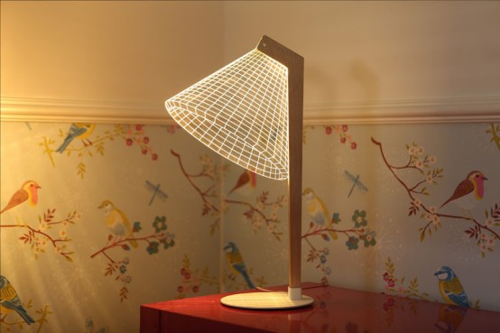 Optical Illusion Bulbing Lamps With 3d Effects