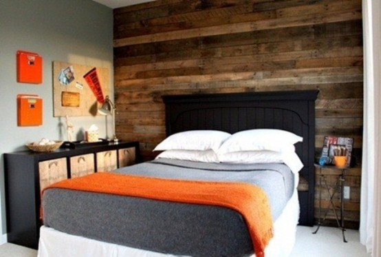 Good Orange Accents In Bedrooms