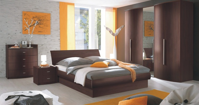 Orange Accents In Bedrooms – 68 Stylish Ideas