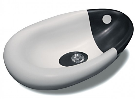 Orca – Yin Yang Washing Basin by Rapsel