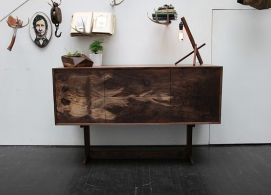 Oregon Black Walnut Furniture With Natural Patterns