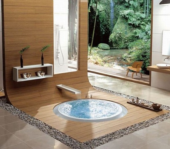Oriental Bathroom Design