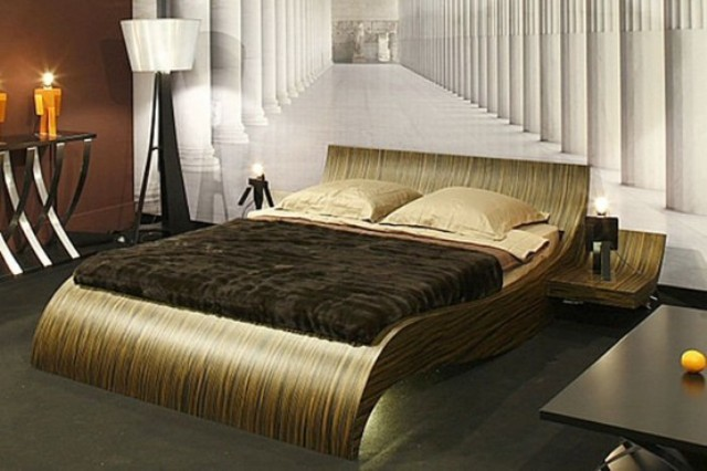 42 original and creative bed designs digsdigs for Double bed new design