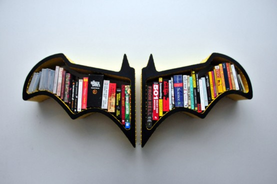 Original Batman Bat Shaped Bookshelf